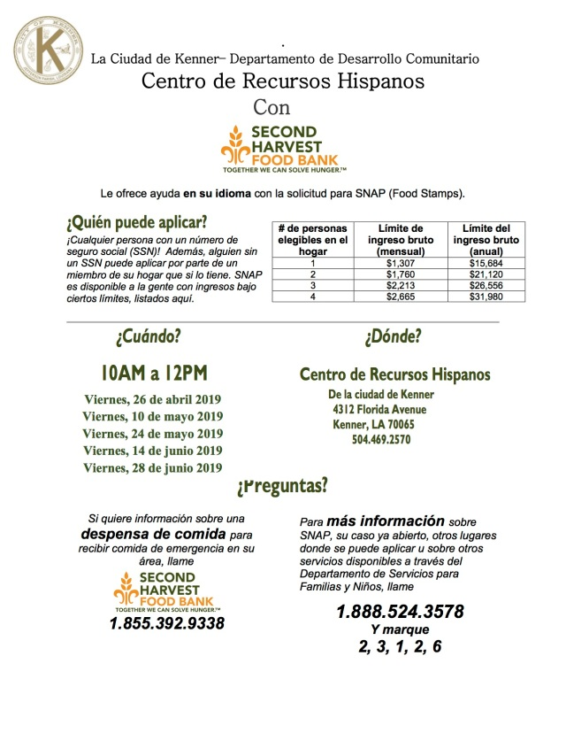 May thru Junel 2019 SNAP-eng and spanish