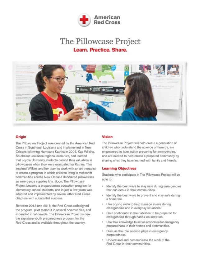 Pillowcase Project Description