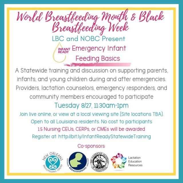 World Breastfeeding Month & Black Breastfeeding week