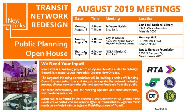 Open House Flyer - August 20190730