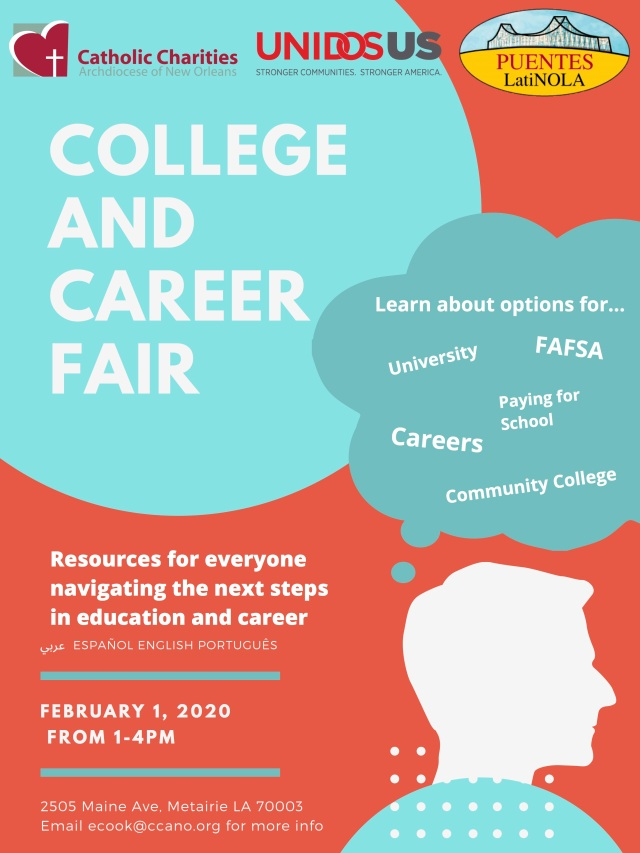 College and Career Fair Flyer all languages