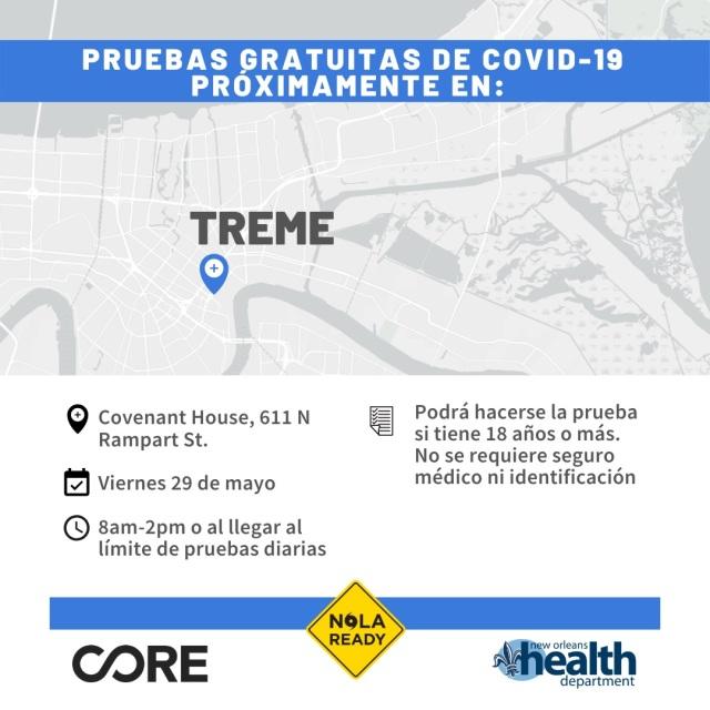 COVID19 Testing_Treme_SPA